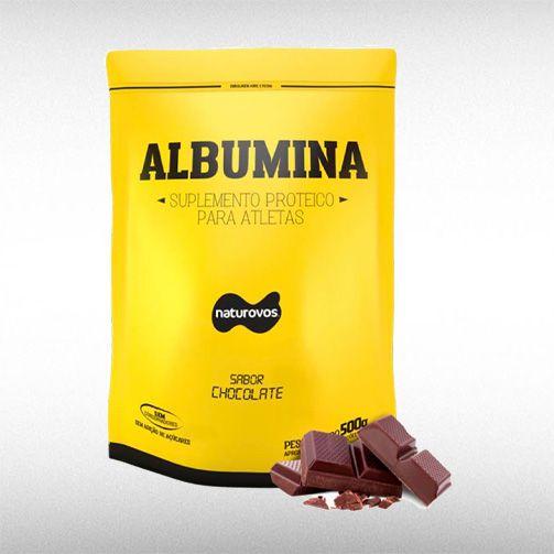 ALBUMINA (500G) - NATUROVOS  - BRASILVITA