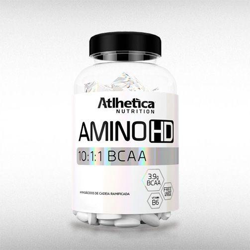 AMINO HD 10:1:1 BCAA (120TABS) - ATLHETICA  - BRASILVITA