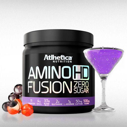 AMINO HD FUSION ZERO SUGAR (450G) - ATLHETICA  - BRASILVITA