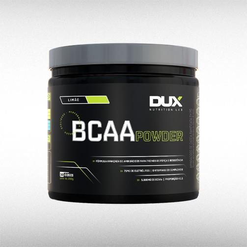 BCAA POWDER POTE (200G) - DUX NUTRITION  - BRASILVITA