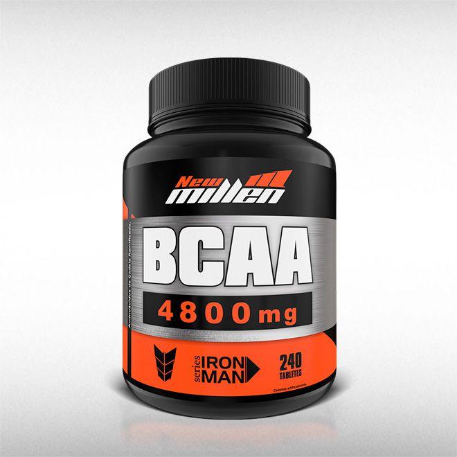 BCAA POWER 4800MG (240TABS) - NEW MILLEN  - BRASILVITA