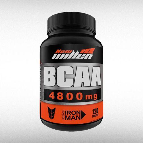 BCAA POWER 4800MG (120TABS) - NEW MILLEN  - BRASILVITA