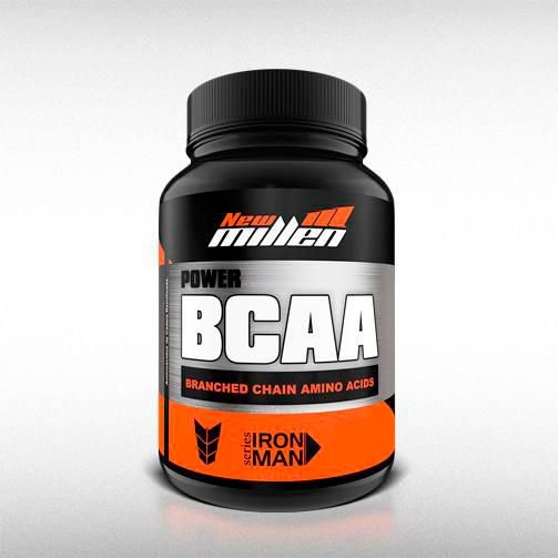 BCAA POWER 545MG (60CAPS) - NEW MILLEN  - BRASILVITA