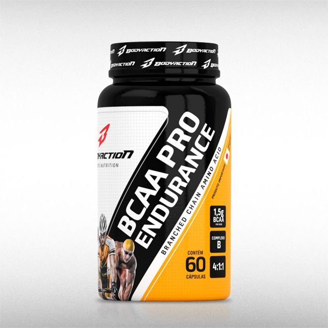 BCAA PRO ENDURANCE (60CAPS) - BODYACTION  - BRASILVITA