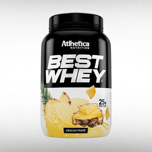 BEST WHEY (900G) - ATLHETICA  - BRASILVITA