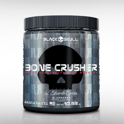 BONE CRUSHER (150GR) - BLACK SKULL  - BRASILVITA