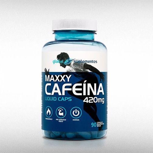 CAFEÍNA 420MG (90CAPS) - GLOBAL SUPLEMENTOS  - BRASILVITA