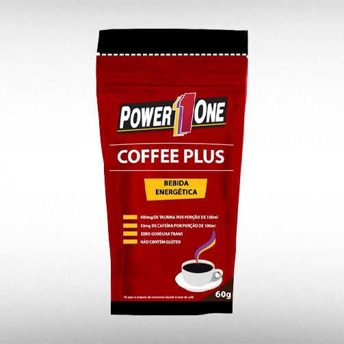CAFFE PLUS (60G)- POWER1ONE  - BRASILVITA