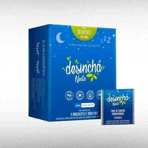 CHÁ DESINCHÁ NOITE (60SACHÊS) - DESINCHA  - BRASILVITA