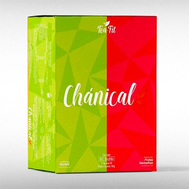 CHÁNICAL (60SACHÊS) - TEA FIT  - BRASILVITA