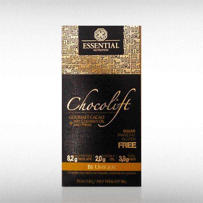 CHOCOLIFT BE UNIQUE (40G) GOURMET CACAO - ESSENTIAL  - BRASILVITA