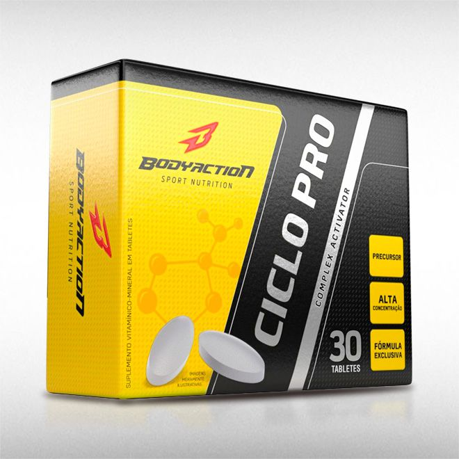 CICLOPRO (30TABS) - BODYACTION  - BRASILVITA