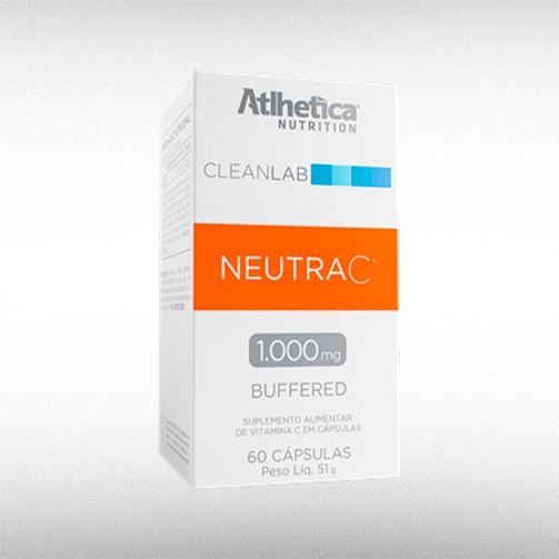 CLEANLAB NEUTRA C BUFFERED 1000 MG (60CAPS) - ATLHETICA  - BRASILVITA