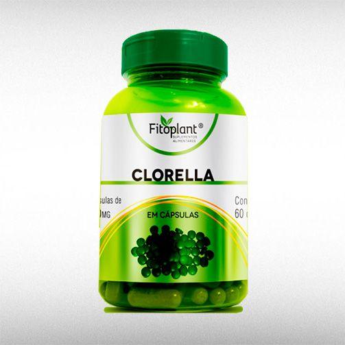 CLORELLA 500MG (60CAPS) - FITOPLANT  - BRASILVITA