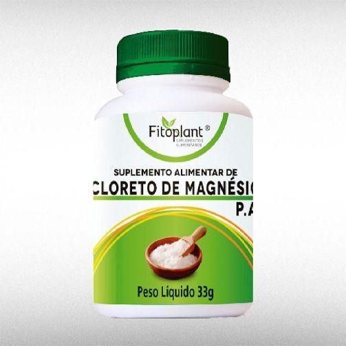 CLORETO DE MAGNESIO PA (33G) - FITOPLANT  - BRASILVITA