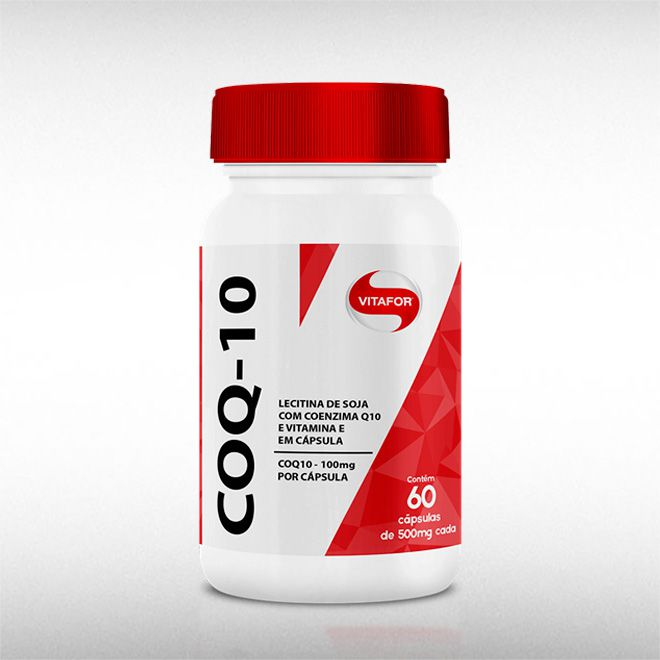 COENZIMA Q10 (60CAPS) - VITAFOR  - BRASILVITA