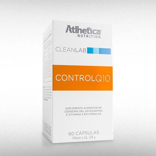 CONTROL Q10 CLEANLAB (60CAPS) - ATLHETICA  - BRASILVITA
