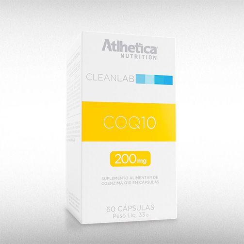 COQ10 200MG (60CAPS) - ATLHETICA  - BRASILVITA