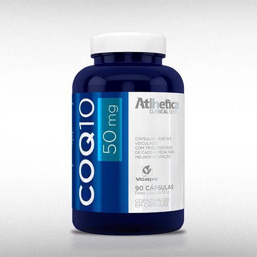 COQ10 50MG (60CAPS) - ATLHETICA  - BRASILVITA