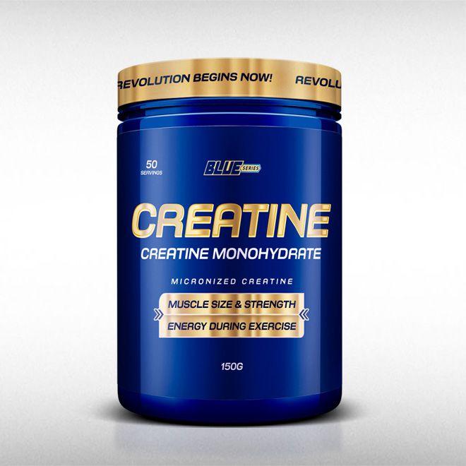 CREATINA EM PÓ CREAPURE (150G) - BLUE SERIES  - BRASILVITA