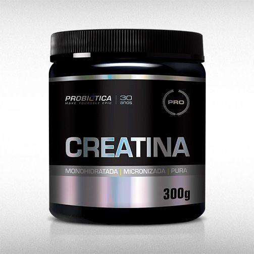 CREATINA PURA (300G) - PROBIÓTICA  - BRASILVITA