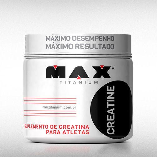 CREATINE (150G) - MAX TITANIUM  - BRASILVITA