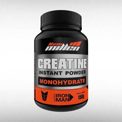 CREATINE INSTANT POWDER (150G) - NEW MILLEN  - BRASILVITA