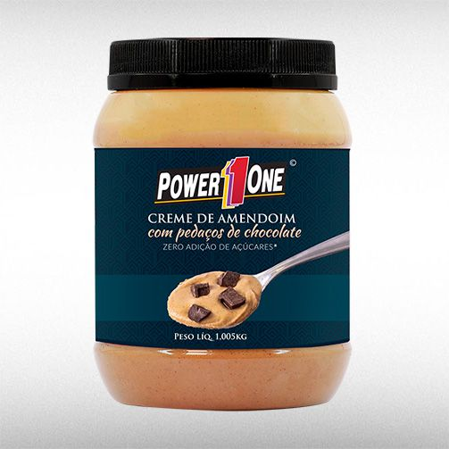 CREME DE AMENDOIM GOURMET (1,005KG) - POWER1ONE  - BRASILVITA