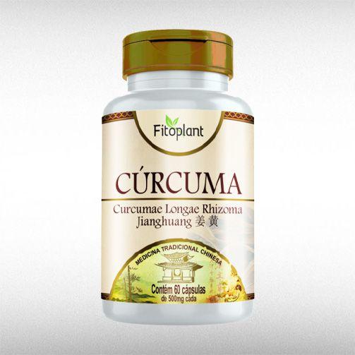 CURCUMA MTC 500MG (60CAPS) - FITOPLANT  - BRASILVITA