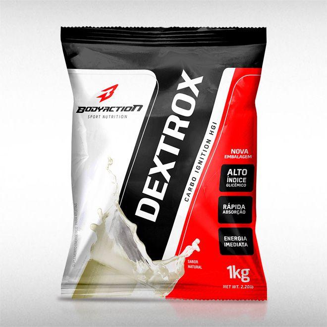 DEXTROX (1KG) - BODYACTION  - BRASILVITA