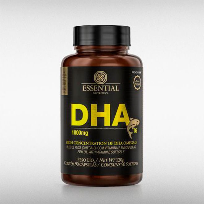 DHA TG 1G (90CAPS) - ESSENTIAL  - BRASILVITA