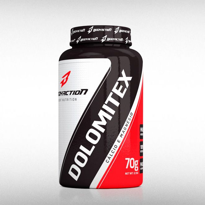 DOLOMITEX (50CAPS) - BODYACTION  - BRASILVITA