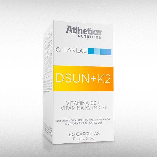 DSUN +K2 (60CAPS) - ATLHETICA  - BRASILVITA