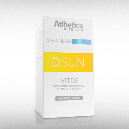 DSUN VITD3 (60ML) - ATLHETICA  - BRASILVITA