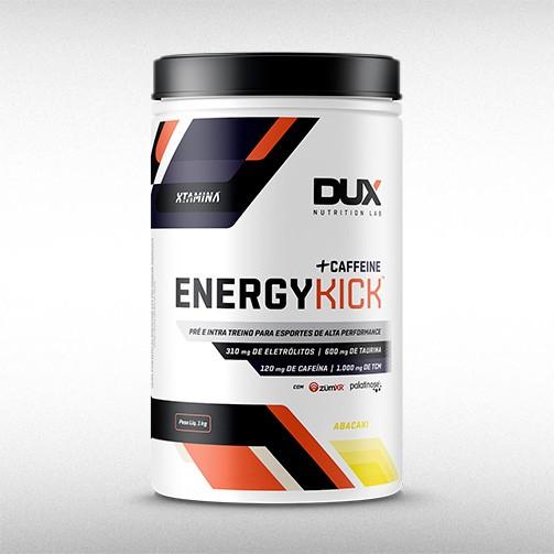 ENERGY KICK CAFFEINE POTE (1000G) - DUX NUTRITION  - BRASILVITA