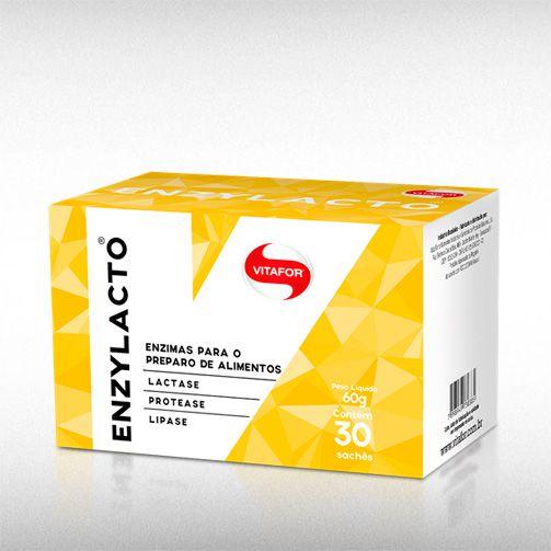 ENZYLACTO 2G (30SACHÊS) - VITAFOR  - BRASILVITA