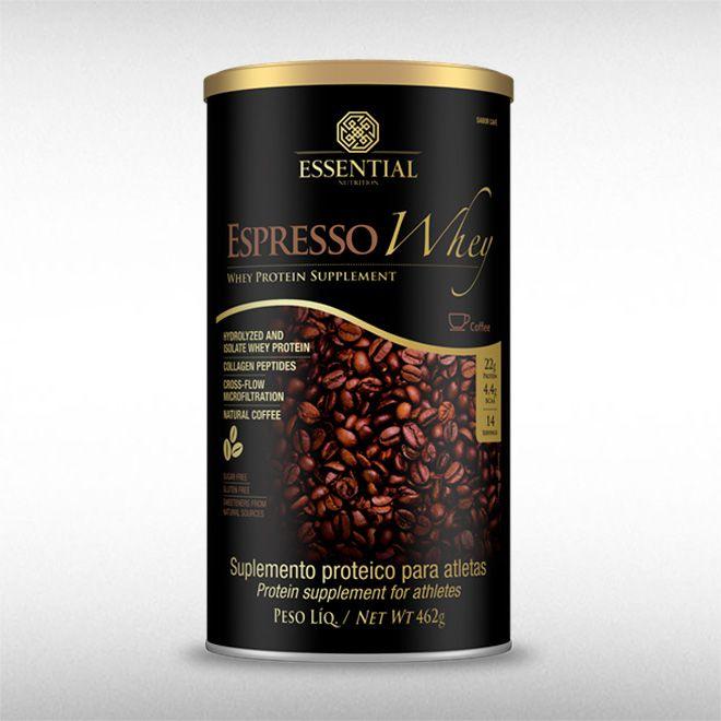 ESPRESSO WHEY (462G) CAFÉ - ESSENTIAL  - BRASILVITA