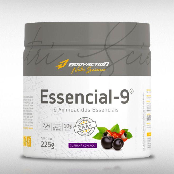 ESSENCIAL-9 (225G) - BODYACTION  - BRASILVITA