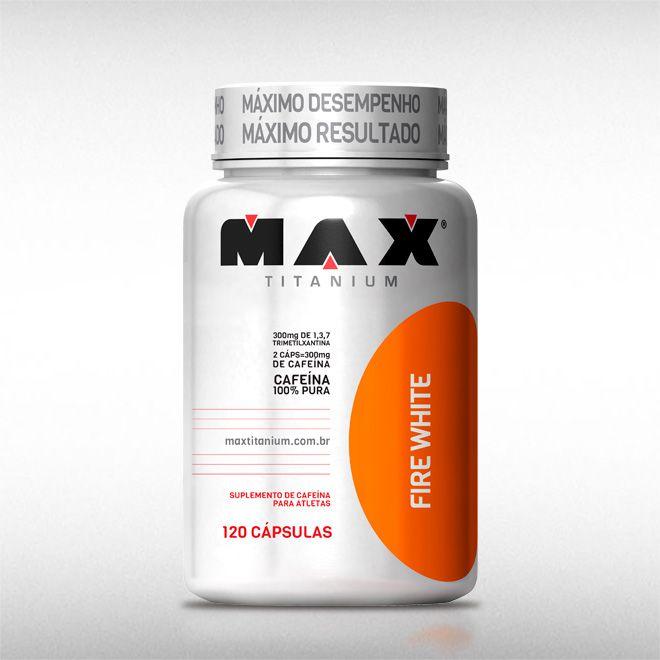 FIRE WHITE (120CAPS) - MAX TITANIUM  - BRASILVITA