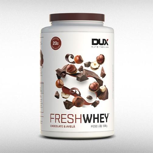 FRESH WHEY POTE (900G) - DUX NUTRITION  - BRASILVITA