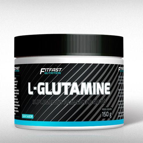 GLUTAMINA (150G) - FIT FAST  - BRASILVITA