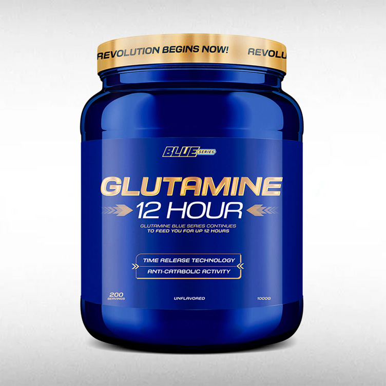 GLUTAMINA (1KG) - BLUE SERIES  - BRASILVITA