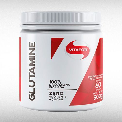 GLUTAMINE (300G) - VITAFOR  - BRASILVITA