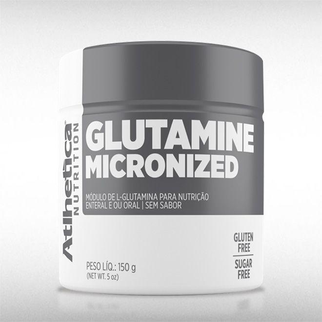 GLUTAMINE MICRONIZED (150G) - ATLHETICA  - BRASILVITA