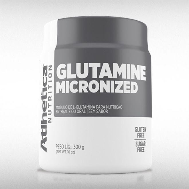 GLUTAMINE MICRONIZED (300G) - ATLHETICA  - BRASILVITA