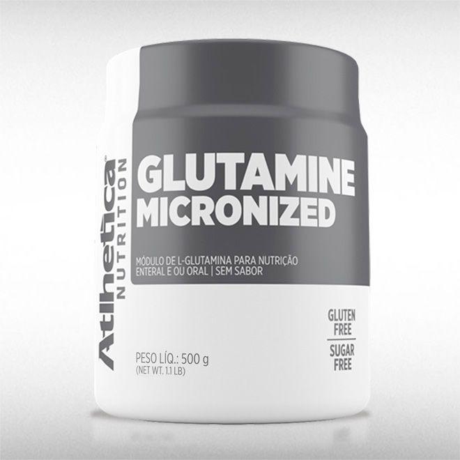 GLUTAMINE MICRONIZED (500G) - ATLHETICA  - BRASILVITA