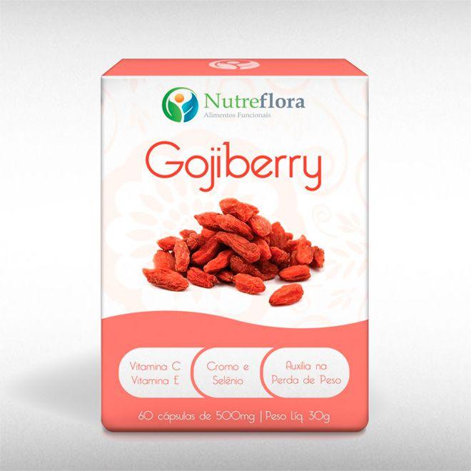 GOJIBERRY (60CAPS) - NUTREFLORA  - BRASILVITA