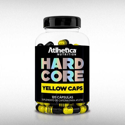 HARDCORE YELLOW CAPS (120CAPS) - ATLHETICA  - BRASILVITA