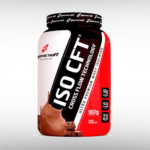 ISO CFT WHEY (907G) - BODYACTION  - BRASILVITA