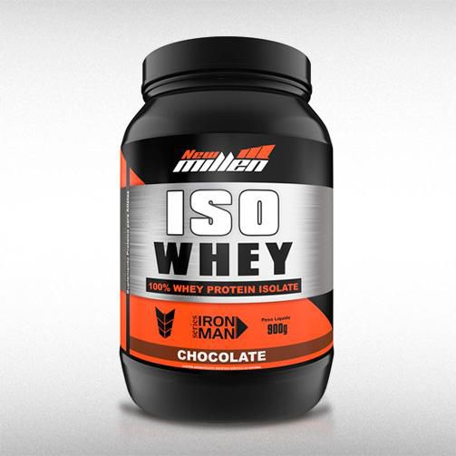 ISO WHEY (900G) - NEW MILLEN  - BRASILVITA
